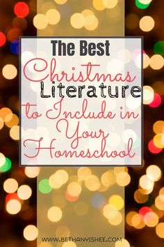 The Best Christmas Literature to Include in Your Homeschool Would you like to include some classic literature in your homeschool this Christmas? Here are some timeless pieces the whole family will enjoy this holiday season. Christmas Books, Christmas Fun, Christmas Carol, How To Start Homeschooling, Christmas Activities For Kids, Christmas Planning, Homeschool Curriculum, Classic Literature, American Literature