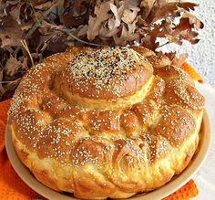 Serbia Recipe, Serbian Christmas, Kolaci I Torte, Bread Rolls, Bagel, Camembert Cheese, Serbian Food, Food And Drink, Cooking Recipes