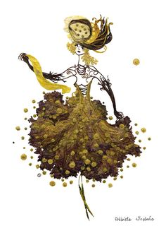 """Poland-based Elżbieta Wodała creates elegant """"paintings"""" by gluing together different kinds of dried seeds, leaves, petals and other plant parts she collects in parks, gardens, forests and meadows. Arte Floral, Unique Words, Unique Art, Flower Art Images, Fleurs Diy, Pressed Flower Art, Parts Of A Plant, Leaf Art, Art Plastique"""