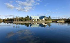 Elegant Glass + steel House in The Netherlands by Keller Minimal Windows