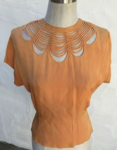1940s blouse