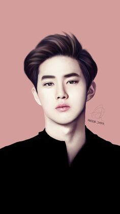 25 jan read ✔suho✔ from the story ♔exo fanart¹♔ by junmyeonbemysenpai