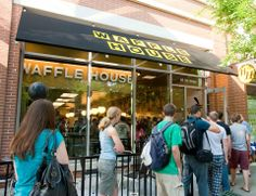 Most visited Waffle House in America? It's on the Georgia Tech Campus.