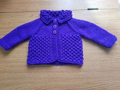 Ravelry: Danika Baby Jacket pattern by marianna mel Knitting For Charity, Baby Knitting, Knitted Baby, Preemie Clothes, Jacket Pattern, Baby Wearing, Ravelry, Boy Or Girl, Crafts For Kids