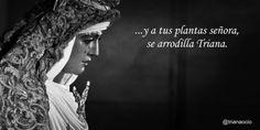 Esperanza de Triana - Sevilla   http://www.trianaocio.es/#!cofrade/c1d94