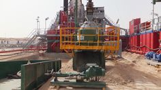 KOSUN vertical cuttings dryer for oil field drilling waste management. http://www.xakx.com/drilling-waste-management/