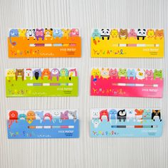 Image of Sticky Notes : Cute Page Flags