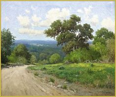 Hill Country Texas Landscape_Porfirio Salinas_this is my great uncle <3