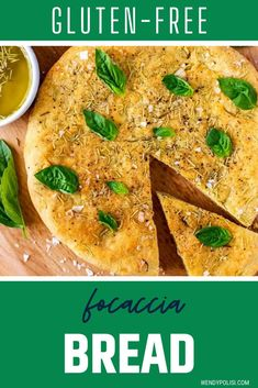 Looking for the best easy gluten-free bread recipe?  It doesn't get any better than this Gluten-Free Focaccia!  It is so full of flavor and even those who aren't avoiding gluten love it! Make this vegan recipe once and, like me, you will be addicted! Gluten Free Bread Recipe Easy, Bread Recipes, Vegan Recipes, Gluten Free Thanksgiving, Thanksgiving Recipes, Rosemary Focaccia, Healthy Options, Butternut Squash, Side Dishes