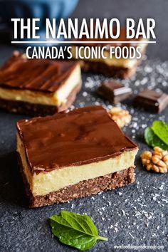 Iconic Canadian Food: The History of the Nanaimo Bar | Food Bloggers of Canada #canadianfood, #nanaimobar via @fbcanada