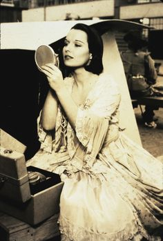 """Louise Brooks....later pic from the '30s, minus the signature """"bob"""""""