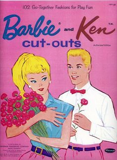 Barbie and Ken cut outs 196 - Bobe Green - Picasa Web Albums Barbie Y Ken, Barbie Paper Dolls, Paper Dolls Book, Vintage Paper Dolls, Vintage Barbie, Vintage Toys, Disney Collectibles, Together Fashion, Ideal Toys