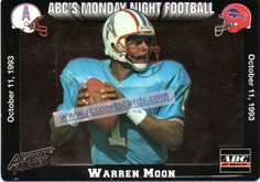 1993 Warren Moon cards at www.rcsportscards.com