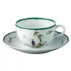 Raynaud -- SI KIANG TEA SAUCER $76.00