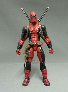 Marvel Now Deadpool (Marvel Legends) Custom Action Figure by Grinmankey