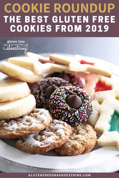 I'm sharing me best gluten free cookie recipes from This list will take you beyond the traditional chocolate chip cookie (though, those are always special) and will leave you ready to bake! Gluten Free Deserts, Gluten Free Sweets, Gluten Free Baking, Best Gluten Free Cookie Recipe, Gluten Free Recipes, Yummy Recipes, Nutella Biscuits, Cookies Et Biscuits, Biscuit Sans Gluten