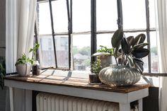 Nautical Scandinavian Style in a Bright White Toronto Loft