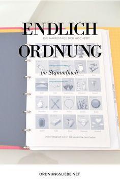 Hier gibt es endlich ein hübsches Stammbuch!