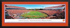 Clemson Tigers Panorama - Memorial Stadium Picture $199.95