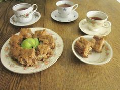 Yankee-Belle Cafe: Apple Cake!  *shhhhhh* This recipe is a secret! And blessings jar tradition.