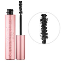 #TooFaced #BetterThanSex #Mascara The most intense, black, multidimensional lashes possible. #Sephora