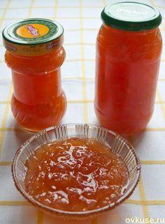 Янтарное яблочное варенье по-болгарски