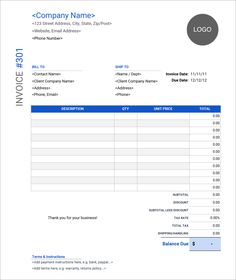 32 Free Invoice Templates In Microsoft Excel And DOCX Formats Freelance Invoice Template, Invoice Design Template, Sales Template, Invoice Sample, Invoice Format, Letterhead Template, Brochure Template, Report Template, Free Business Plan