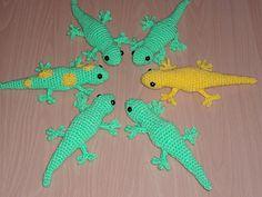 Gecko - Free Amigurumi Pattern - PDF Download