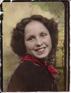 My grandma at age 19!!