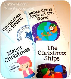 Holiday themed reading comprehension passages, printable books, and assessments - Your 4th, 5th, and 6th grade upper elementary classroom or homeschool students will love celebrating Christmas or Holidays Around the World with this 90+ page resource. You get fiction and nonficton passages, questions, and more. Great for small group intervention work, reading homework, for FUN, and more. Cover the standards too! {fourth, fifth, sixth graders} #Reading #Christmas