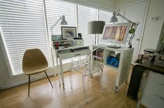 The Rolling Hideaway Closet Office
