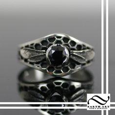 Custom Made Honey Bee Engagement Ring