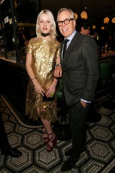 Harriet Verney joined Tommy Hilfiger at the London Collections dinner to celebrate men's fashion.