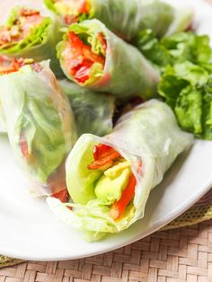 The classic BLT reconstructed and offered in new form -- BLT Summer Rolls with Avocado - are made with only six ingredients and make for the perfect appetizer, lunch or light dinner. No bread to distract you from the full flavors of the real stars in the standard sandwich. Low carb, dairy free and gluten free.