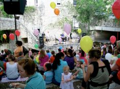One thing Austin families can count on every summer is live music and fun galore at the weekly Children's Day Art Park. From interaction with members of The Austin Symphony, who wander the crowds performing for children, to onstage jams by some of Austin's most beloved children's entertainers,