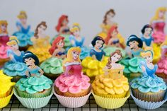 Disney Princess Cakes and Cupcakes | Disney Princess Cupcakes » With Sprinkles on Top