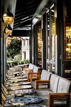 Le nouveau look de La Rotonde de La Muette : la terrasse du restaurant