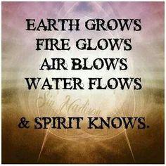 Earth Fire Air Water