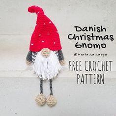 Mesmerizing Crochet an Amigurumi Rabbit Ideas. Lovely Crochet an Amigurumi Rabbit Ideas. Crochet Santa, Christmas Crochet Patterns, Christmas Applique, Crochet Diy, Crochet Christmas Ornaments, Christmas Gnome, Crochet Gifts, Crochet Dolls, Patron Crochet