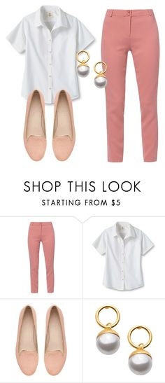 """""""Sem título #7492"""" by ana-sheeran-styles ❤ liked on Polyvore featuring WtR London, Lands' End and Witchery"""