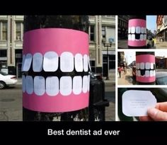 Good dental marketing lol