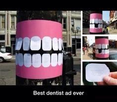 Good dental marketing lol