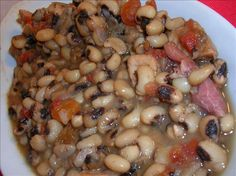 NEW YEAR DAY TRADITION...BLACKEYED PEAS..