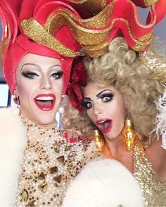 Thorgy Thor and Alyssa Edwards Alyssa Edwards, Trixie And Katya, Family Affair, Double Trouble, Girls Be Like, Amazing Women, My Girl, Glamour, Drag Queens
