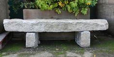 Granite Curbstone Bench Eclectic Outdoor Benches San Outdoor Stone Benches Outdoor Stone Benches