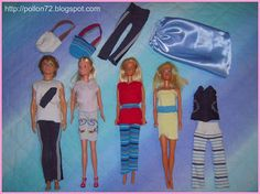 barbie and ken clothes from socks
