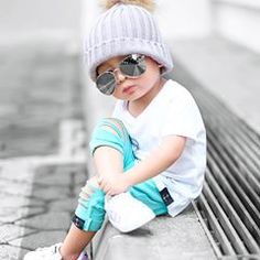 Cool Baby with Sunglasses