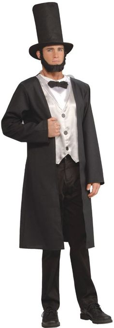 abe lincoln adult costume