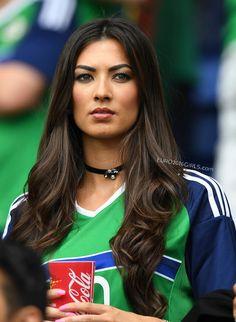PURE Northern Irish beauty.  MORE of her: http://euro2016girls.com/northern-irish-girls/  #EURO2016 #NorthernIreland #Irish #football #girls #hot