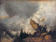 Joseph Mallord William Turner 'The Fall of an Avalanche in the Grisons', exhibited 1810